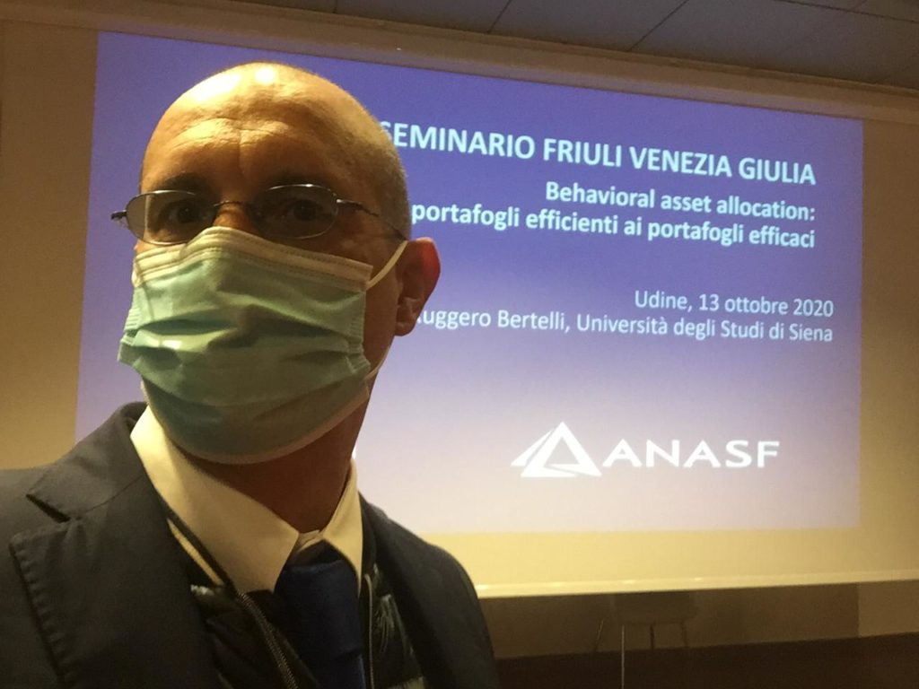 Seminario JP Morgan e ANASF - Udine 13-10-2020